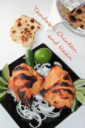 Tandoori Chicken & Naan