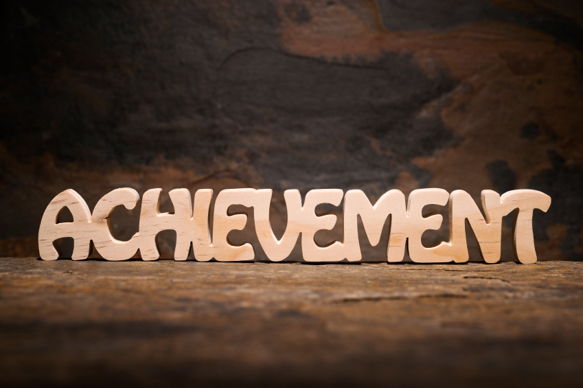 experiment 5 achievement behavior number of words detected and - words for achievement