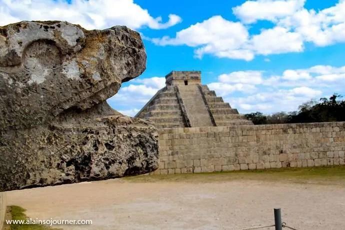 Chichen Itza Pyramid Mexico Kukulkan Cancun Tulum 14