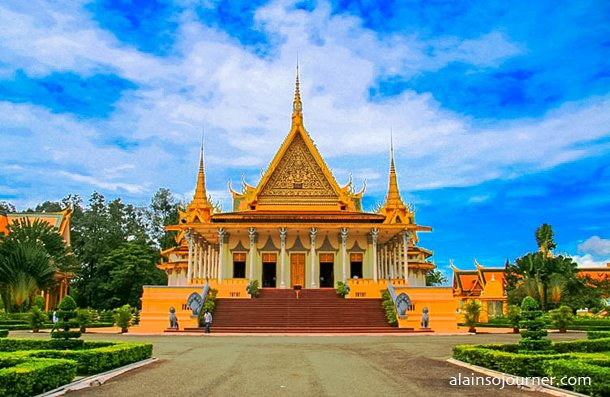 Phnom Penh Grand Royal Palace Cambodia