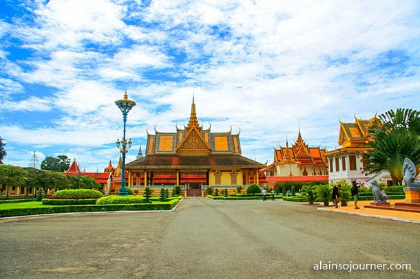 Grand Royal Palace Phnom Penh Cambodia 4