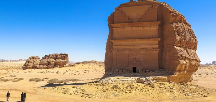 Al Fareed at Madain Saleh, Saudi Arabia.