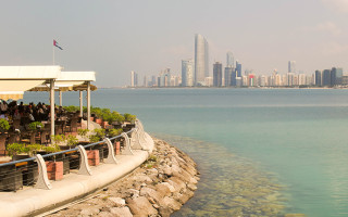 My Own Walking Tour in Abu Dhabi.