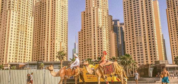 This Photo Shows Dubai in a Nutshell / Jumeirah Beach
