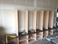 DIY Garage Mudroom Lockers with Lots of Storage  Keeping ...