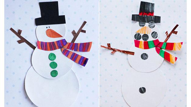 snowman printable template
