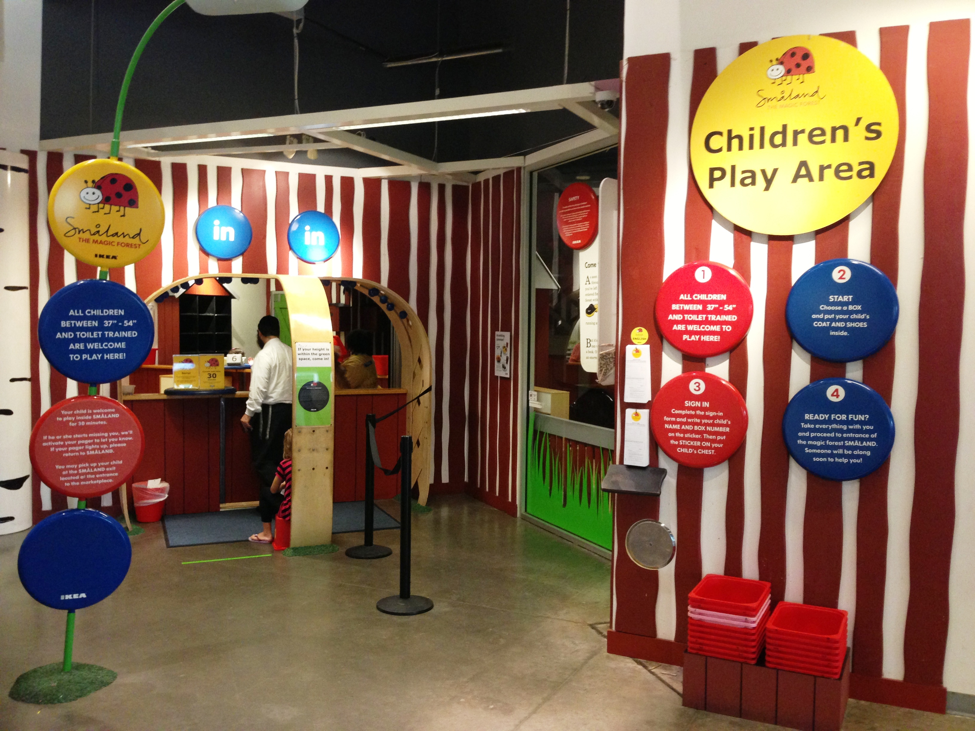 Ikea Play Area Ikea Play Place And Fun For The Family Sunrise Nationwide