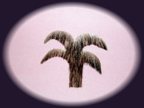 The Palm Merkin..... looks totally natural, yet tropical.
