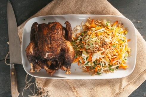 roast szechuan chicken