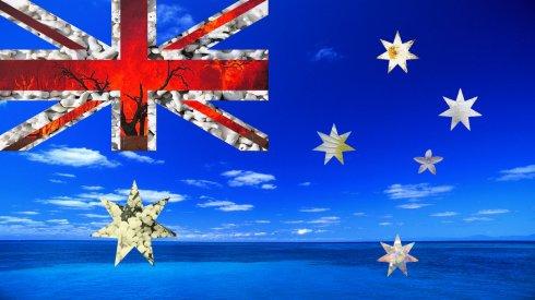 Australian Flag by Emma Constance