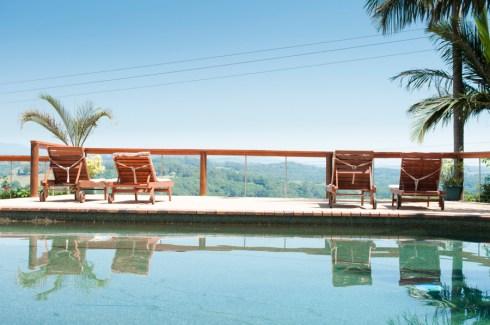 Pool area Summer Hills Retreat