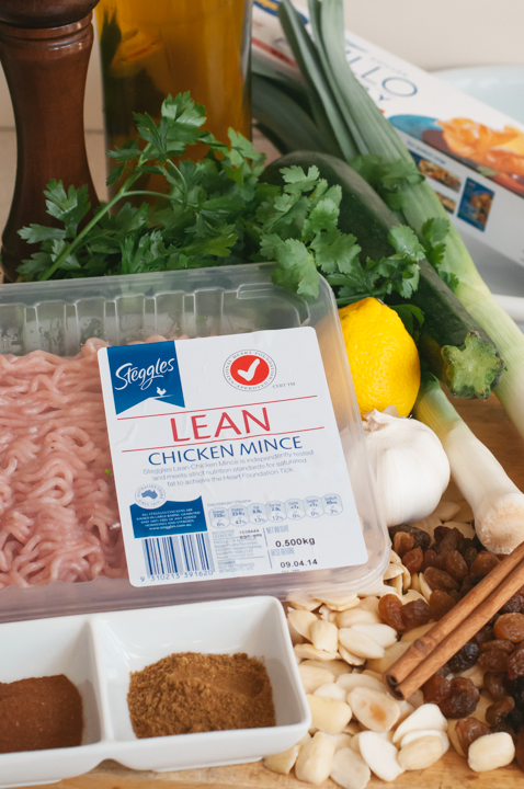 chicken bastilla ingredients