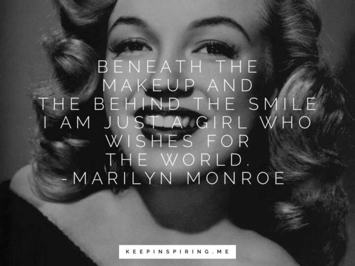 Marilyn Monroe Makeup 112 Marilyn Monroe Quotes That Still Inspire After 50 Years