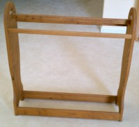 wooden quilt rack plans