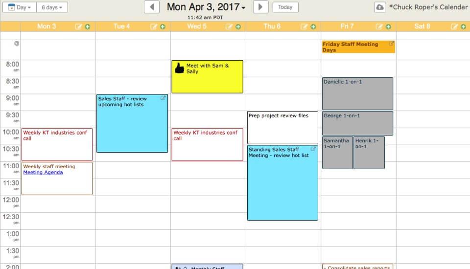 Simple Online Calendar Sharing KeepandShare