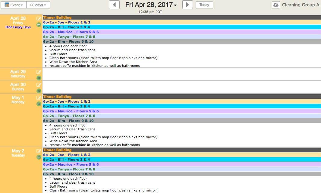 online calendar schedule maker - Tomadaretodonate