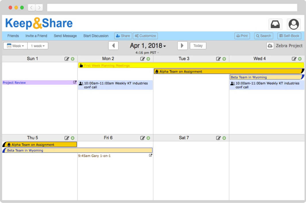 Easy-to-Use Free Online Calendar KeepandShare
