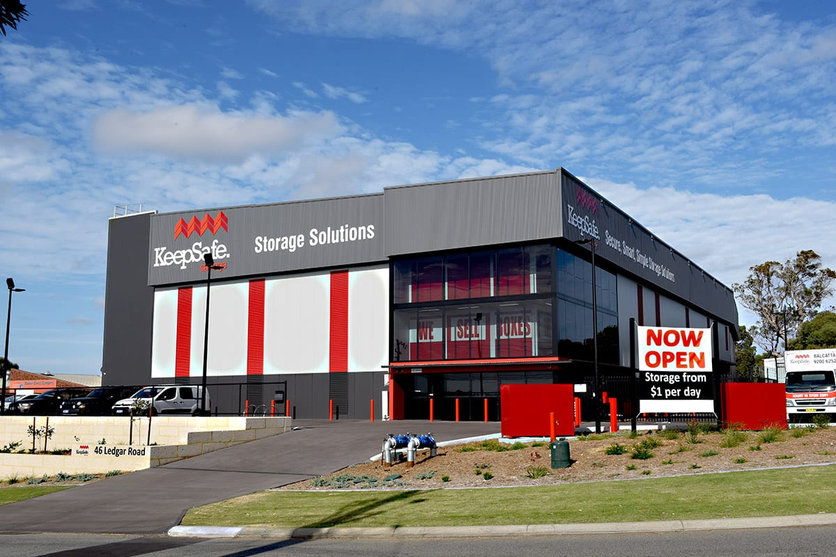Storage Rental Perth Self Storage Balcatta Nollamara Stirling Units Keepsafe Storage