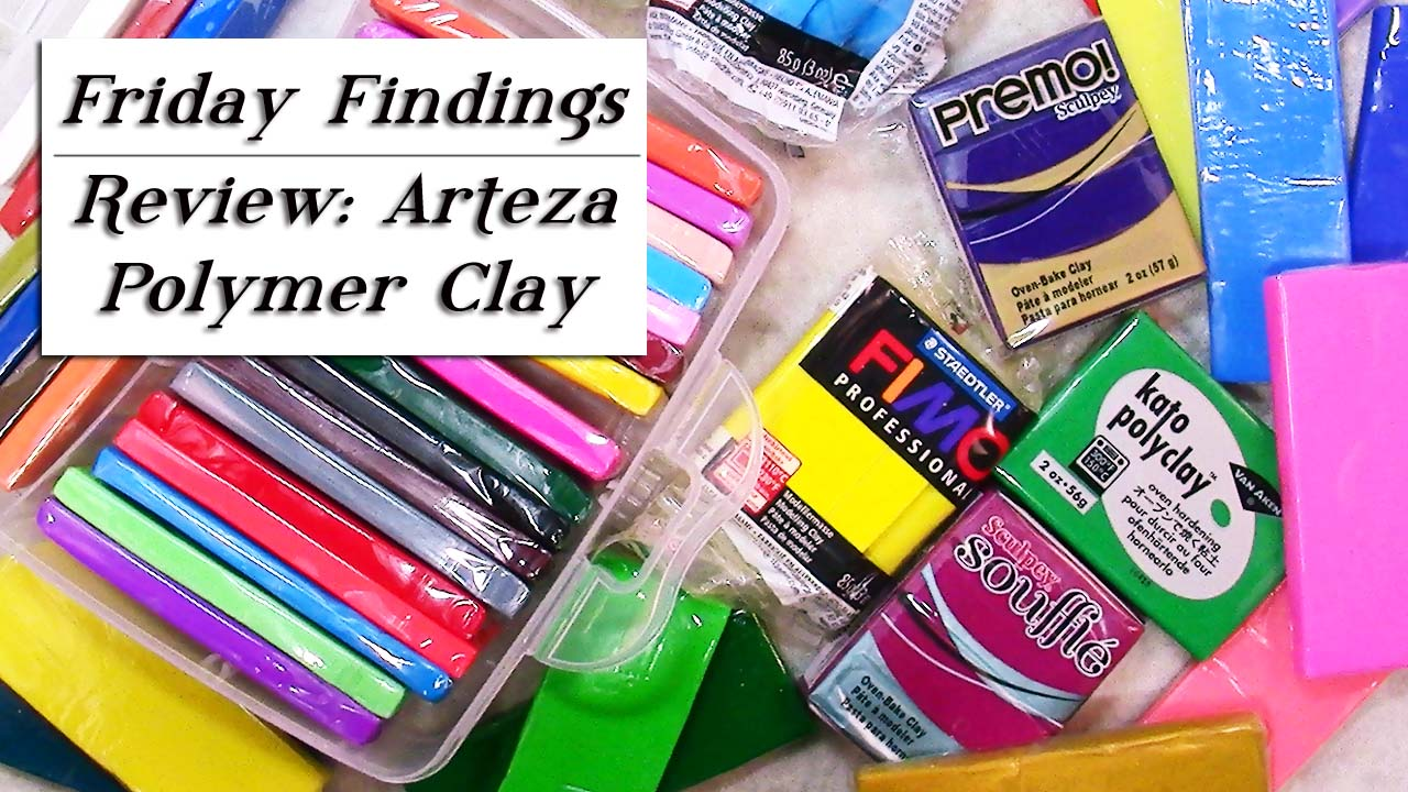 Arteza Address Arteza Polymer Clay 42 Colors Diy Set Review Friday Findings