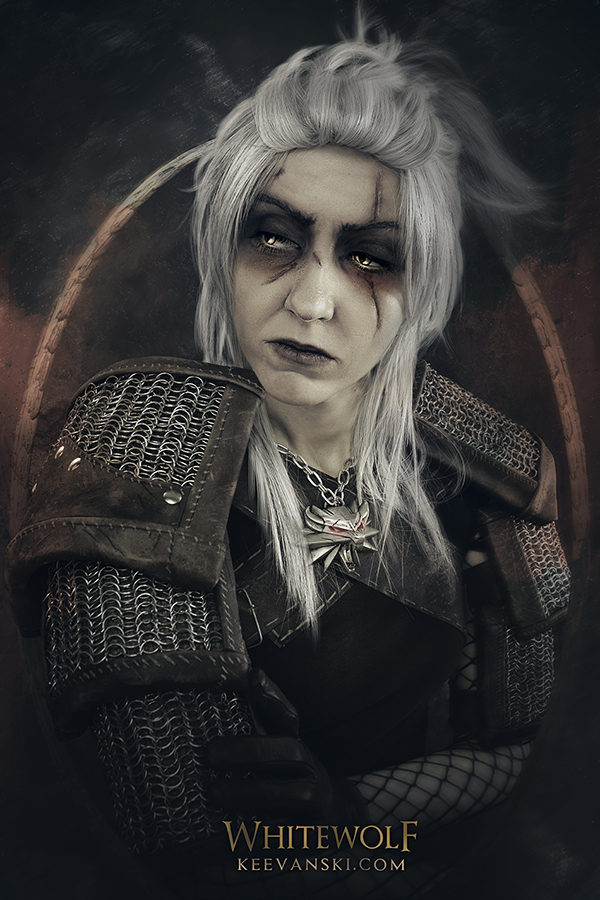 Saga Libros The Witcher Cosplay Makeup Geralt Of Rivia The Witcher 3 Wild Hunt
