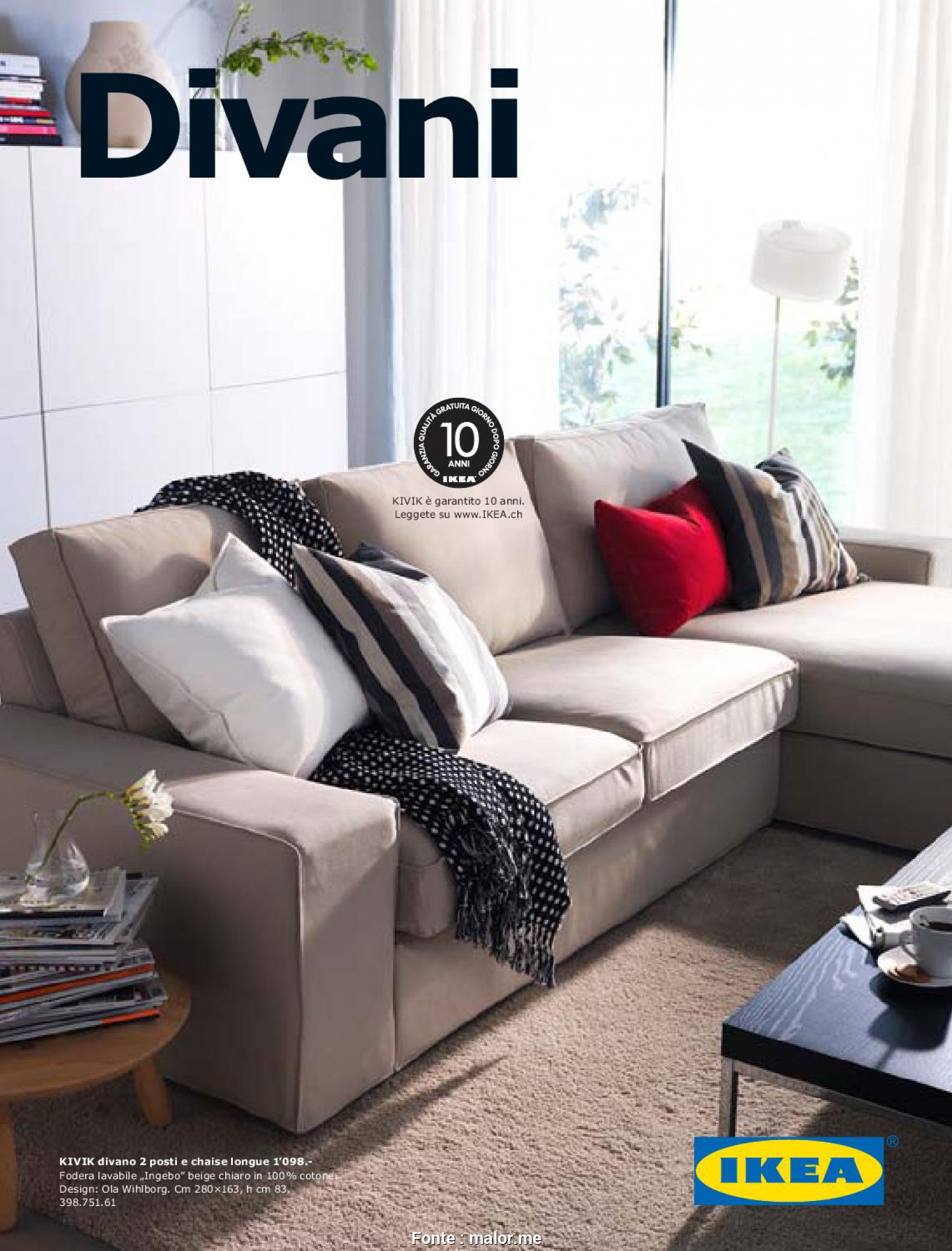 Divani Relax Ikea Balebo Loveable 6 Divano Beige Ikea Keever For Congress