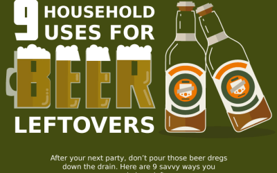 9 Household Uses for Beer Leftover