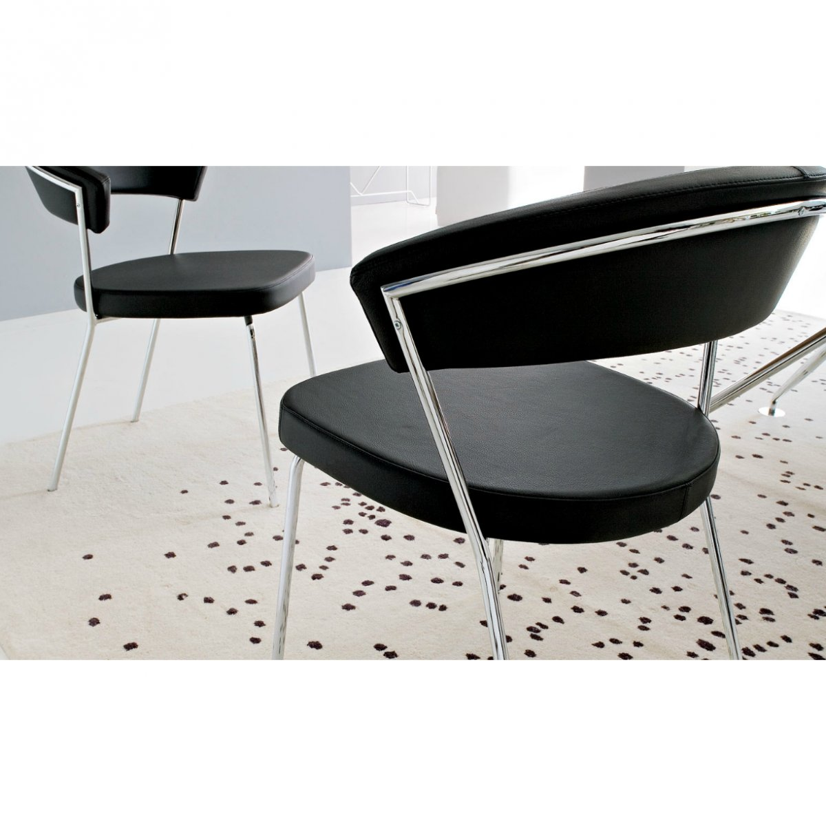 Sedia Calligaris New York Tortora Connubia By Calligaris Sedia New York Pelle Cb1084lh