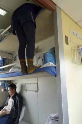 世界一高い場所を走る青蔵鉄道に乗ってチベットへ。