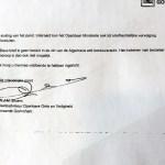 Brief der Gemeinde Gorinchem (Quelle: VOC) 2/2
