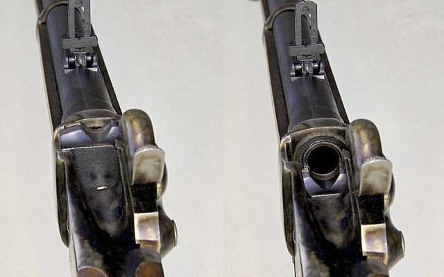 Sharps Rifle Photo: Thuringius (Own work) [Public domain], via Wikimedia Commons