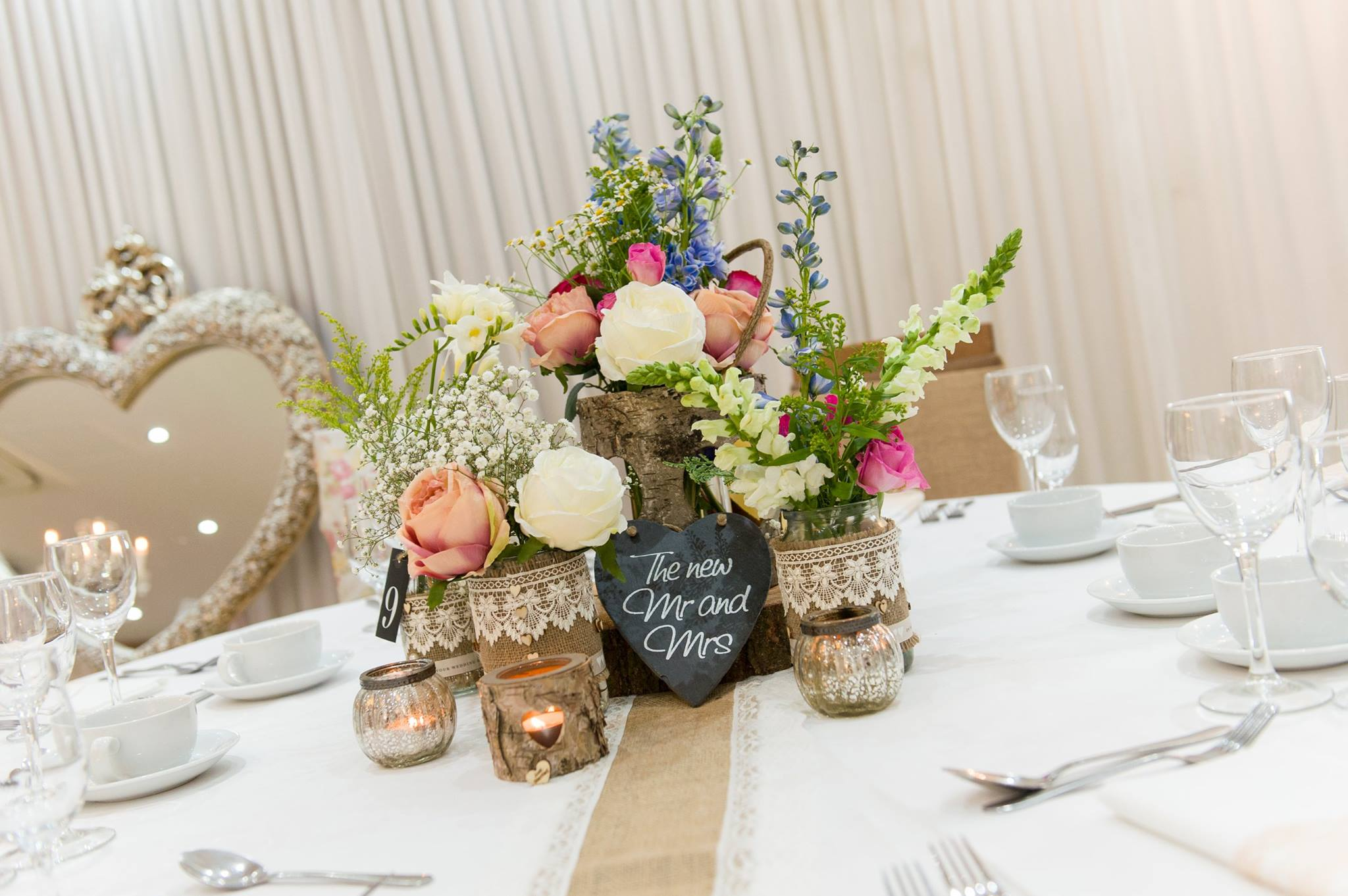 Table Decor And More Rustic Wedding Keith Woods Wedding And Events