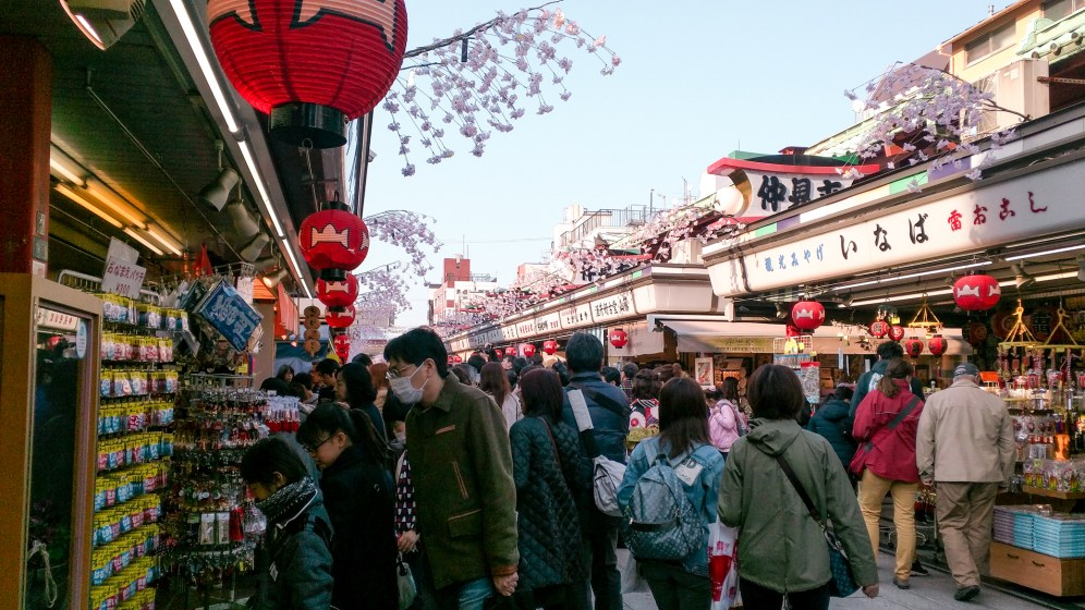 Asakusa was packed, as usual
