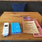 カフェでMy子機