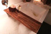 Badewannenablage Holz   Kellerherz Blog-Shop-Dings
