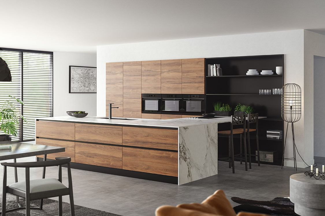 Marble Keuken City Chic Keller Kitchens