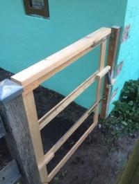 Gartentor in 60 Minuten bauen?
