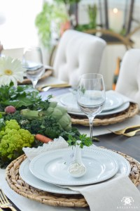 Vegetable Patch Easter Table - Kelley Nan