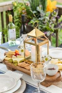 appetizer table decoration ideas | Brokeasshome.com