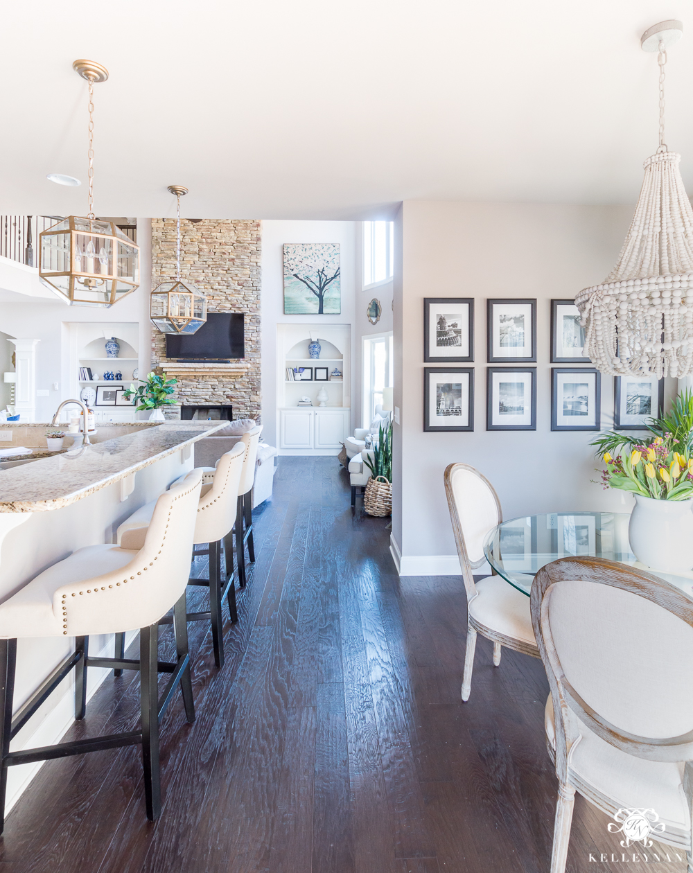Living Room Vs Great Room 2018 Spring Home Tour Decorating Ideas For Every Room In The
