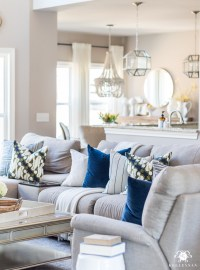 Spring Living Room Decor 2018