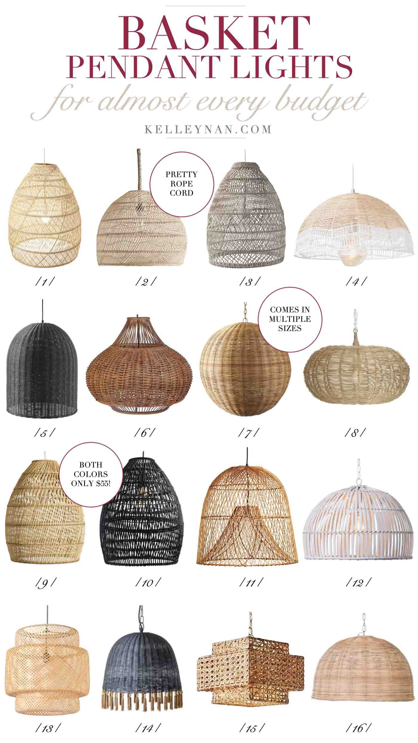 Wicker Basket Pendant Light 16 Basket Pendant Lights To Fit Any Style Trending