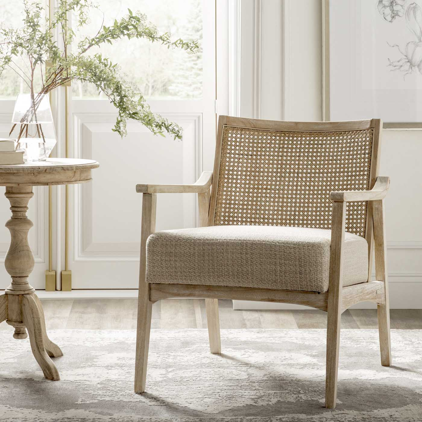 16 Rattan Accent Chair Favorites With Cane Woven Kelley Nan