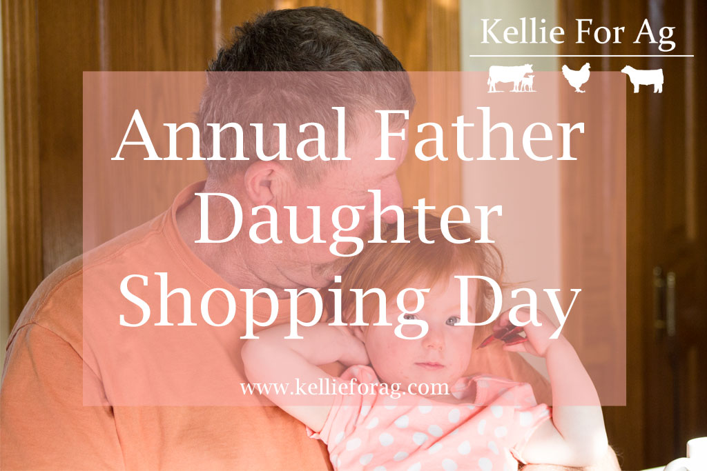 Annual Father Daughter Shopping Day