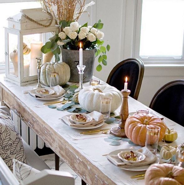 Designer Tisch Holz How To Set Your Thanksgiving Table - Kelli Ellis