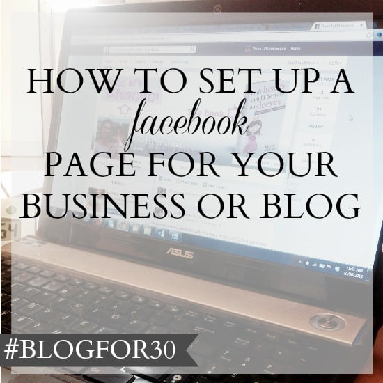 how to set up a good facebook business page