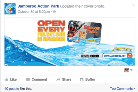 how to make image clickable facebook