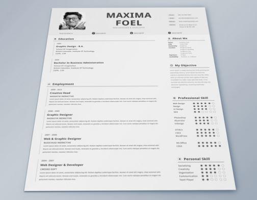 20+ Awesome Designer Resume Templates for Free Download \u2013 Kellology - resume templates indesign