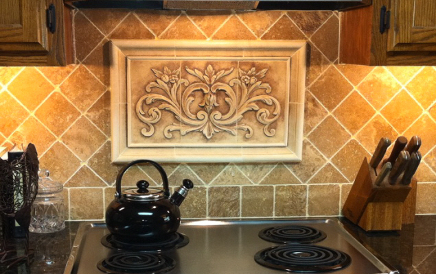 kitchen ceramic tile mural backsplash joy studio design gallery ceramic tile mural kitchen tiles