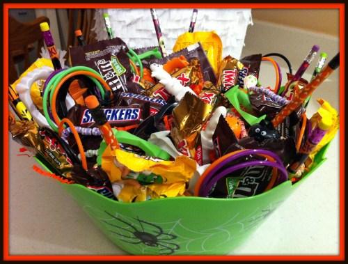 Double Shred Dontbehouse Halloween Basket Treats Donation Walmart Halloween Candy Baskets Walmart Halloween Candy Coupons