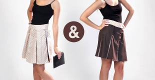 Two Skirts In One With The Chamelyo   #chamelyo #colorchangingskirt